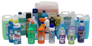 Productos para varios campos de la limpieza profesional